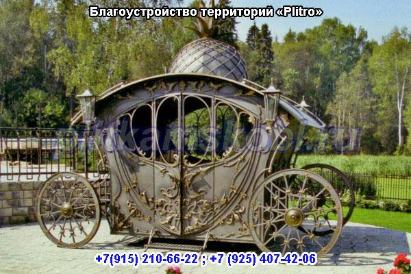 Благоустройство придомовой территории в Московской области