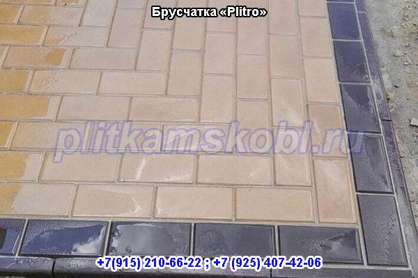 Производство тротуарной плитки Брусчатка