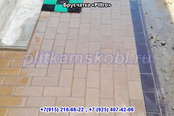 Производство и укладка тротуарной плитки в Орехово-Зуево