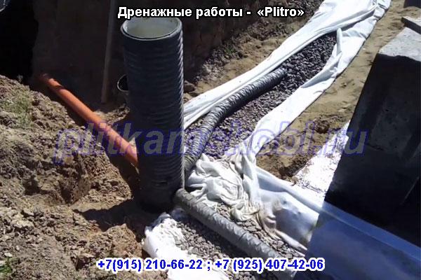 Дренажные работы «под ключ» в Московской области