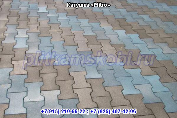 Производство тротуарной плитки Катушка в Московской области