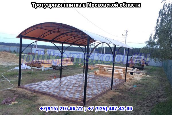 Благоустройство территорий «под ключ» в Московской области