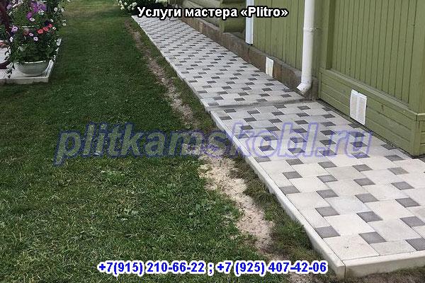 Услуги мастера по укладке тротуарной плитки